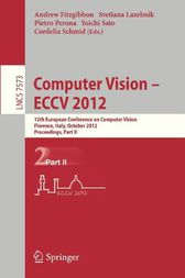 Computer Vision – ECCV 2012 by Andrew Fitzgibbon