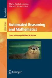 Automated Reasoning and Mathematics by Maria Paola Bonacina