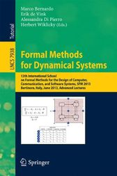 Formal Methods for Dynamical Systems by Marco Bernardo