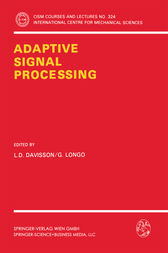 Adaptive Signal Processing by L.D. Davisson