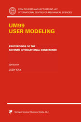 UM99 User Modeling by Judy Kay
