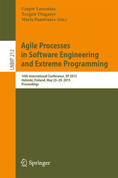 Agile Processes in Software Engineering and Extreme Programming by Casper Lassenius