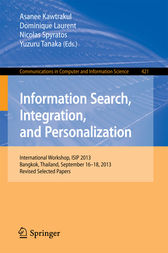 Information Search, Integration, and Personalization by Asanee Kawtrakul