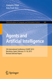 Agents and Artificial Intelligence by Joaquim Filipe