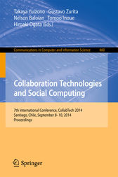 Collaboration Technologies and Social Computing by Takaya Yuizono