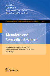 Metadata and Semantics Research by Sissi Closs
