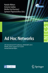 Ad Hoc Networks by Natalie Mitton