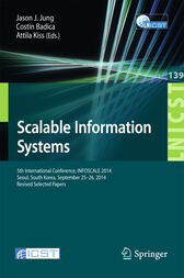 Scalable Information Systems by Jason J. Jung
