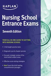 Nursing School Entrance Exams by Kaplan Nursing