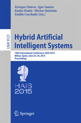 Hybrid Artificial Intelligent Systems by Enrique Onieva