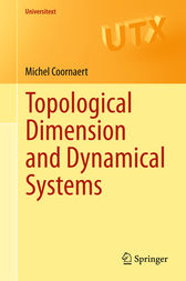 Topological Dimension and Dynamical Systems by Michel Coornaert