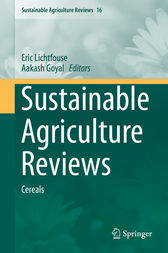 Sustainable Agriculture Reviews by Eric Lichtfouse