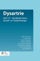 Dysartrie by H.F.M. Peters