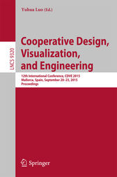 Cooperative Design, Visualization, and Engineering by Yuhua Luo
