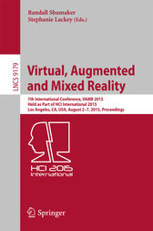 Virtual, Augmented and Mixed Reality by Randall Shumaker