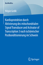 Kardioprotektion durch Aktivierung des mitochondrialen Signal Transducer and Activator of Transcription 3 nach ischämischer Postkonditionierung im Schwein by Nilgün Gedik