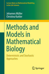 Methods and Models in Mathematical Biology by Johannes Müller