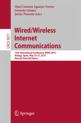 Wired/Wireless Internet Communications by Mari Carmen Aguayo-Torres