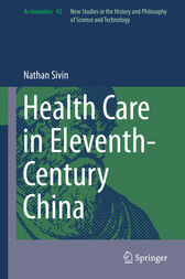 Health Care in Eleventh-Century China by Nathan Sivin