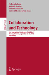 Collaboration and Technology by Nelson Baloian
