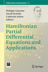 Hamiltonian Partial Differential Equations and Applications by Philippe Guyenne