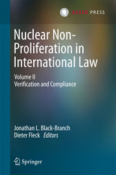 Nuclear Non-Proliferation in International Law by Jonathan L. Black-Branch
