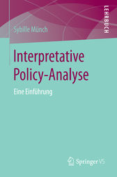 Interpretative Policy-Analyse by Sybille Münch