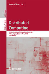 Distributed Computing by Yoram Moses