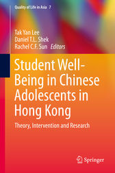 Student Well-Being in Chinese Adolescents in Hong Kong by Tak Yan Lee