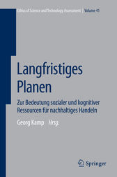 Langfristiges Planen by Georg Kamp