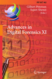 Advances in Digital Forensics XI by Gilbert Peterson