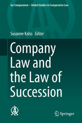 Company Law and the Law of Succession by Susanne Kalss