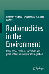 Radionuclides in the Environment by Clemens Walther