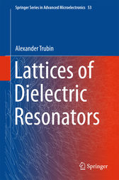 Lattices of Dielectric Resonators by Alexander Trubin