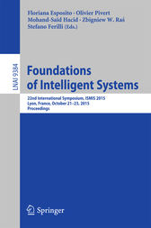 Foundations of Intelligent Systems by Floriana Esposito