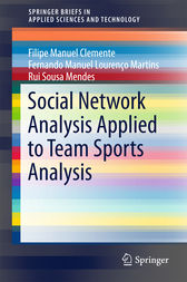 Social Network Analysis Applied to Team Sports Analysis by Filipe Manuel Clemente