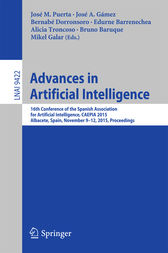 Advances in Artificial Intelligence by José M. Puerta