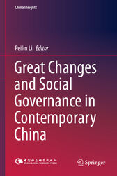 Great Changes and Social Governance in Contemporary China by Peilin Li