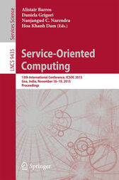 Service-Oriented Computing by Alistair Barros