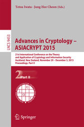 Advances in Cryptology – ASIACRYPT 2015 by Tetsu Iwata