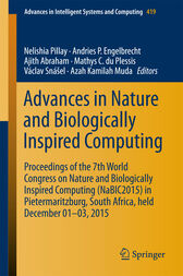 Advances in Nature and Biologically Inspired Computing by Nelishia Pillay
