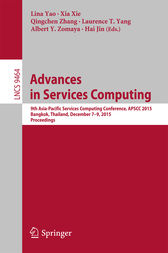Advances in Services Computing by Lina Yao