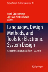 Languages, Design Methods, and Tools for Electronic System Design by Frank Oppenheimer