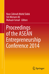 Proceedings of the ASEAN Entrepreneurship Conference 2014 by Noor Zahirah Mohd Sidek