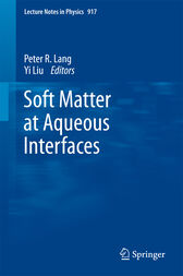 Soft Matter at Aqueous Interfaces by Peter Lang