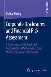 Corporate Disclosures and Financial Risk Assessment by Philipp Kissing