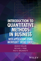 Introduction to Quantitative Methods in Business by Bharat Kolluri