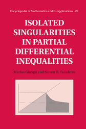 Isolated Singularities in Partial Differential Inequalities by Marius Ghergu