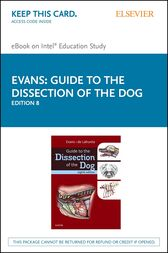Guide to the Dissection of the Dog - E-Book by Howard E. Evans