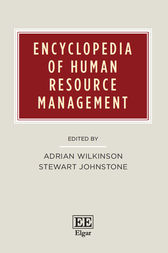 Encyclopedia of Human Resource Management by Adrian Wilkinson